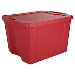 Caja organizadora Fullbox 75 Litros rojo
