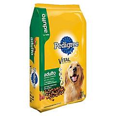 Alimento seco para perro adulto 21 kg carne y vegetales