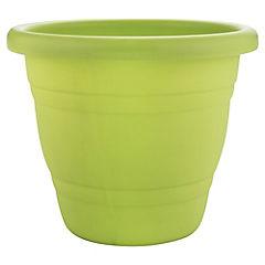 Macetero de plástico 35 cm Verde
