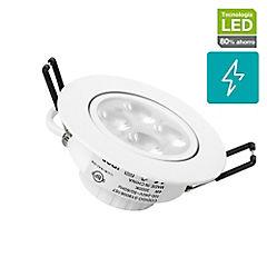Foco SMD empotrado LED 3 W