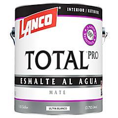 Esmalte al agua mate total pro 1g