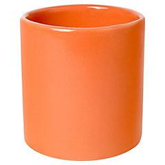 Macetero cactus de cerámica 9 cm naranjo