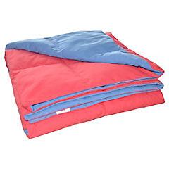 Plumón pluma reversible rojo/azul 1.5 plaza