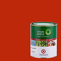 Esmalte sintético base agua rojo mandarín 1/4 gl