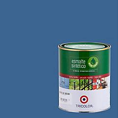 Esmalte sintético base agua azul pacífico 1/4 gl