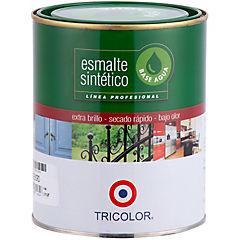 Esmalte sintético base agua café moro 1/4 gl