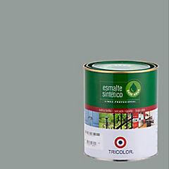 Esmalte sintético base agua gris perla 1/4 gl