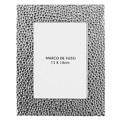 Marco de foto metalizado 13x18 cm