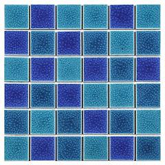 Malla 30x30 cm verde/azul