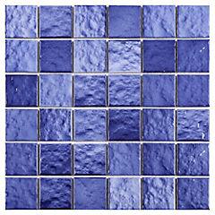 Malla 30x30 cm azul/celeste