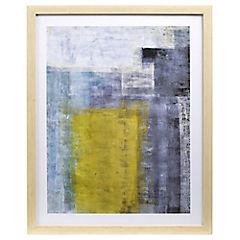 Cuadro abstracto oscuro 40x50 cm