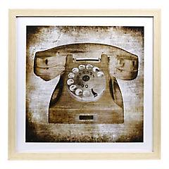 Cuadro teléfono dos 40x40 cm