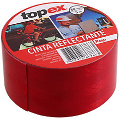 Cinta reflectante GD roja 50 mm 5 m