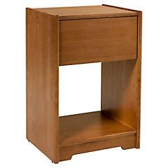 Velador soho 42x35x65 cm madera caramelo