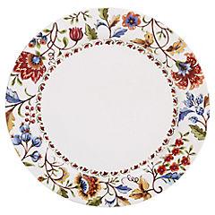 Plato floral 28 cm