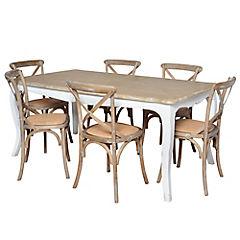 Juego de comedor Vittoria 6 sillas