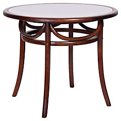 Mesa de comedor 75x90 cm café