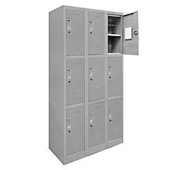 Lockers de oficina OL3-03 llave gris