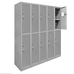Lockers de oficina OL5-02 llave gris
