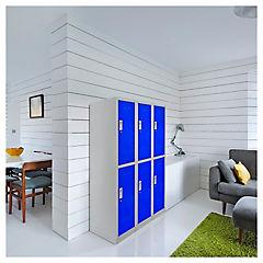 Lockers de oficina OL3-02 llave azul