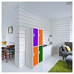 Lockers de oficina OL2-02 llave colores