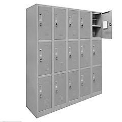 Lockers de oficina OL5-03 candado gris