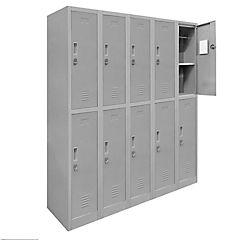 Lockers de oficina OL5-02 candado gris
