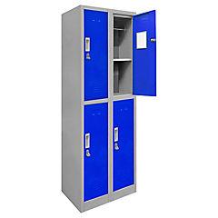 Lockers de oficina OL2-02 candado azul