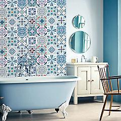 Set de azulejos adhesivos 15x15 cm 12 unidades