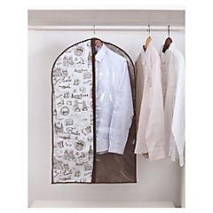Funda para ropa 100x60 cm tela Beige