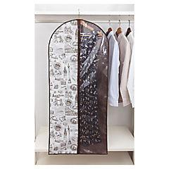 Funda para ropa 137x60 cm tela Beige