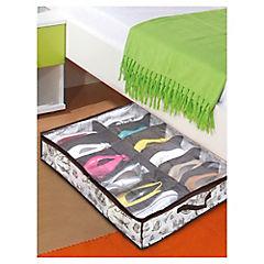 Caja organizadora de zapatos bajo cama 75x60x15 cm Europa