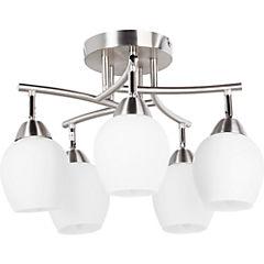 Lámpara de techo 5 luces 60 W