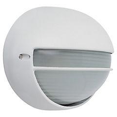 Lámpara tortuga exterior 100 W Blanco