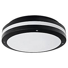 Tortuga círculo aluminio negro E27
