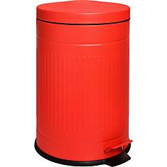 Basurero con pedal 20 litros rojo