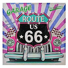 Canvas route 66 60x60x3 cm
