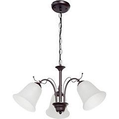 Lámpara colgante 36 cm 3 luces 60 W