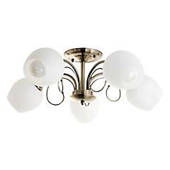 Lámpara de techo Valencia 5 luces