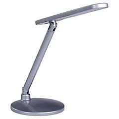 Lámpara de escritorio botón gris led 5W