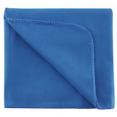 Frazada polar 1.5 plaza 165x220 cm azul