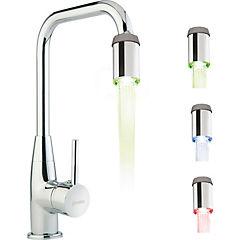 Aireador para lavaplatos con luz LED ABS