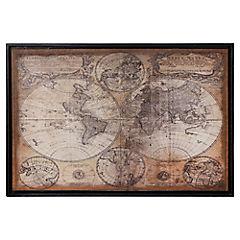 Cuadro enmarcado 87x127 cm Mundi