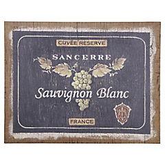 Cuadro enmarcado 40x50 cm Sauvignon Blanc