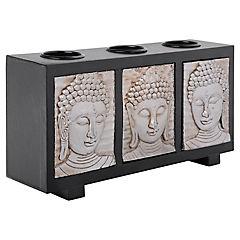 Porta tealight Buda 3 unidades