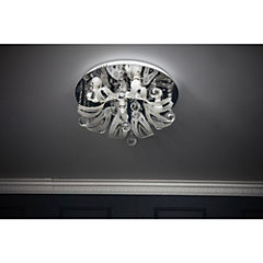 Lámpara de techo 5 luces E27 multiclor