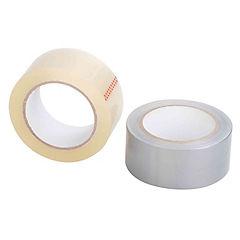 Pack cinta embalaje y cinta tela