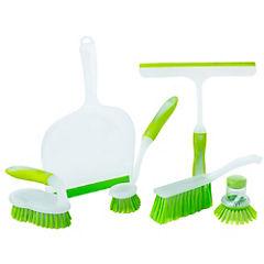 Set de 6 cepillos para limpieza