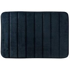 Piso de baño Foam Rayas negro 40x60 cm