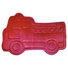 Piso de baño Auto Foam rojo